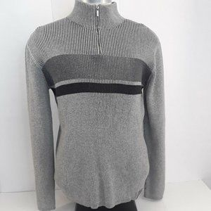 Calvin Klein Jeans Quarter Zip Sweater Mens Large
